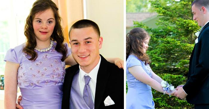 Este chico cumplió su promesa y llevó a su amiga con síndrome de Down al baile de graduación