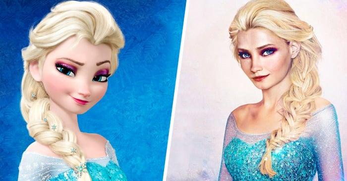 Como se verían 20 princesas de Disney si fueran reales