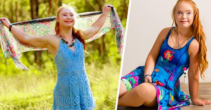 Madeline, la famosa chica con sindrome de down, acaba de firmar un contrato de modelaje con una marca deportiva