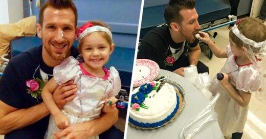 Esta pequeña tiene 4 años, padece CÁNCER y se CASÓ con su enfermero favorito ¡Es hermoso!