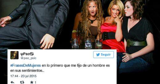 Los 21 mejores y DIVERTIDOS Tweets con el HASHTAG #FrasesDeMujeres