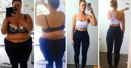 Una mujer fue acusada de FINGIR su drástica pérdida de peso, ella RESPONDIÓ así