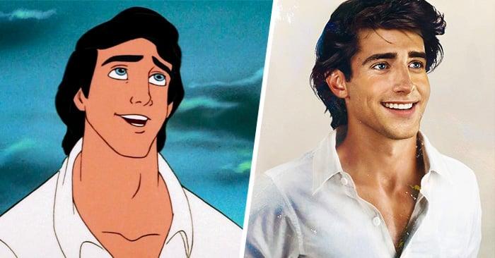 8 Príncipes de Disney en una versión REALISTA ¿Te los habías imaginado así?