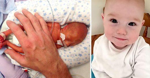 Esta es la asombrosa historia del BEBÉ que iba ser ABORTADO ¡Ya cumplió un año!
