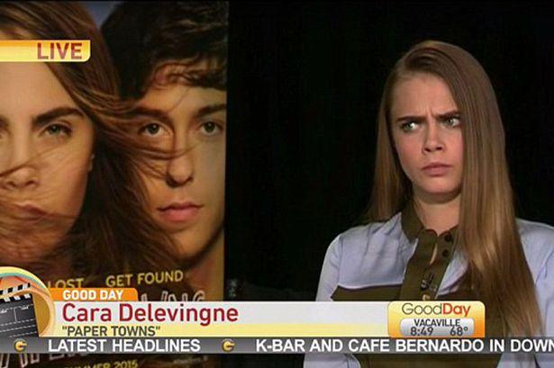 Entrevista de Cara Delevingne