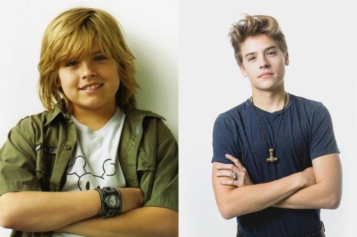 El antes y el después de Dylan Sprouse