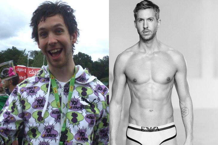 El antes y el después de Calvin Harris