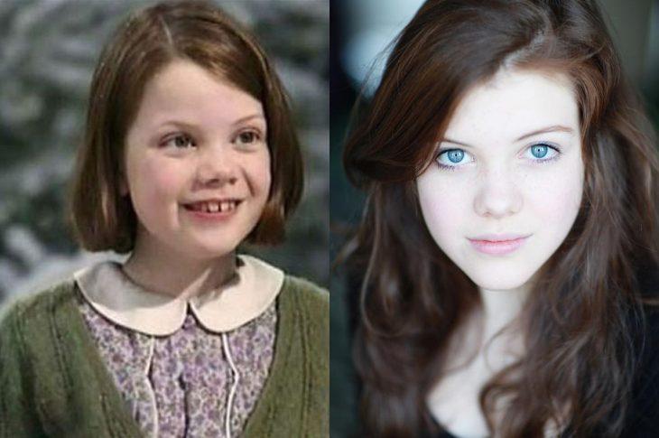 El antes y el después de Georgie Henley
