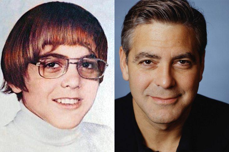 El antes y el después de George Clooney