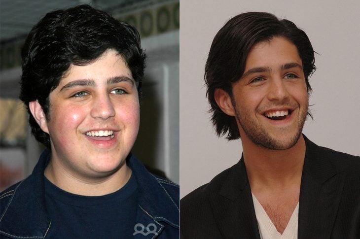 El antes y el después de Josh Peck