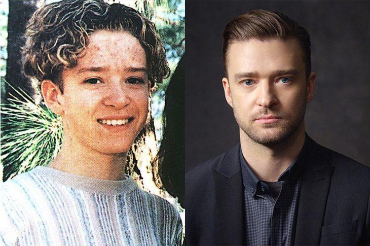 El antes y el después de Justin Timberlake