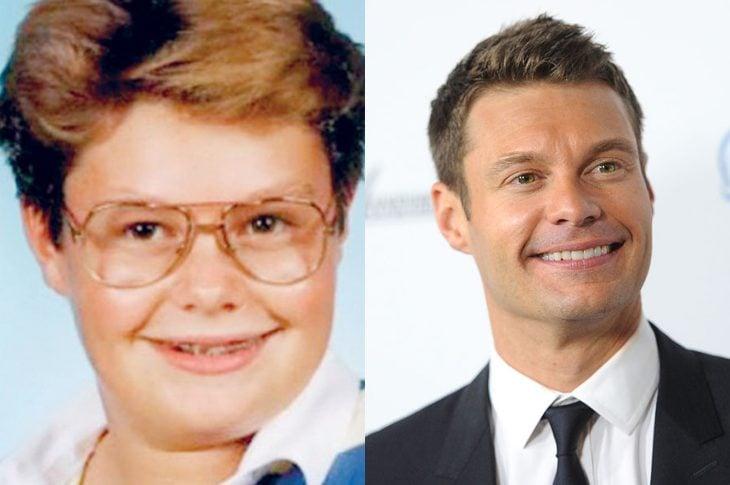 El antes y el después de Ryan Seacrest