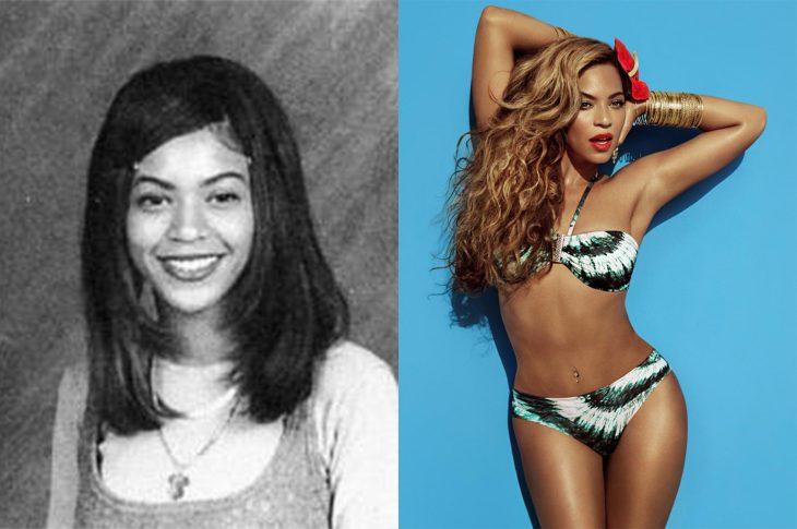 El antes y el después de Beyoncé