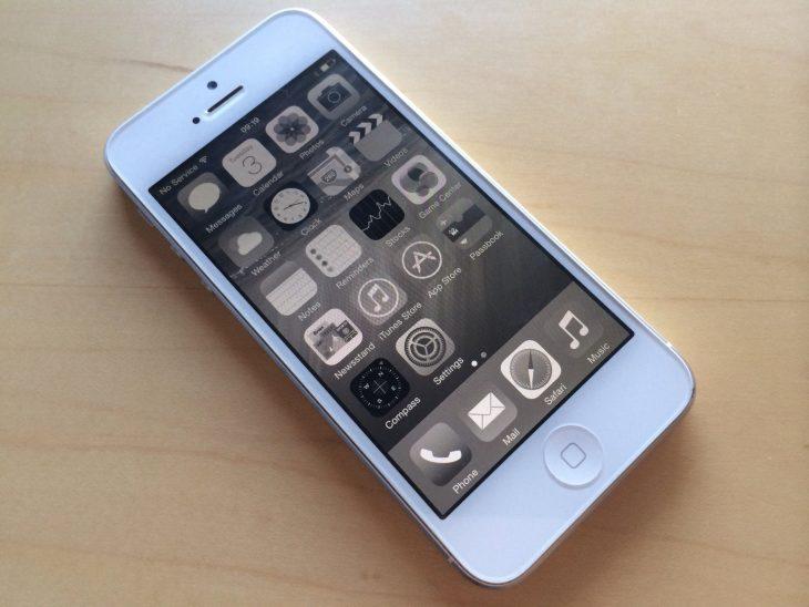 Escala de grises iphone