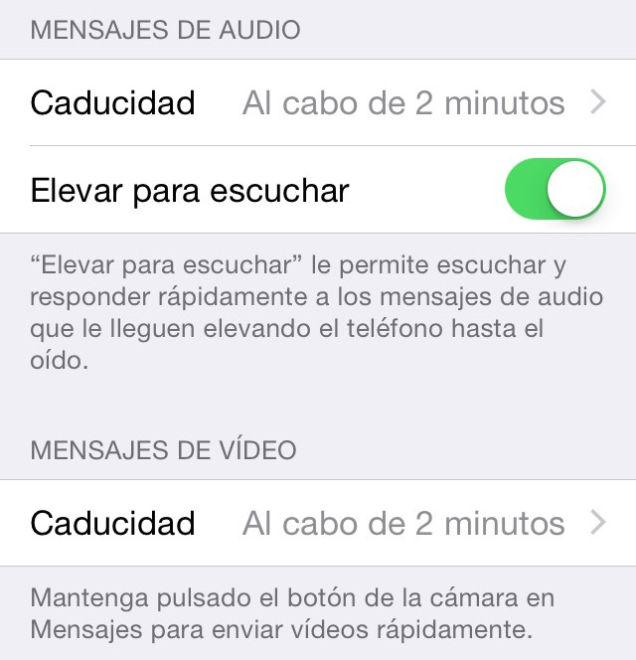 Mensajes que se autodestruyen iPhone