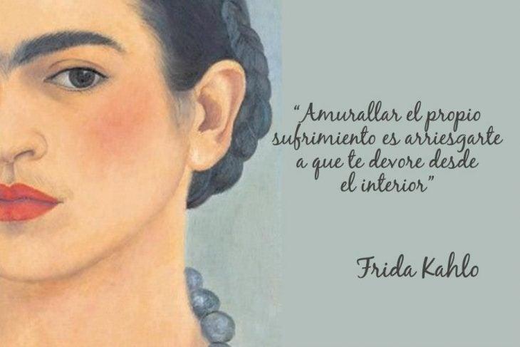 Amurallar el dolor-Frida Kahlo