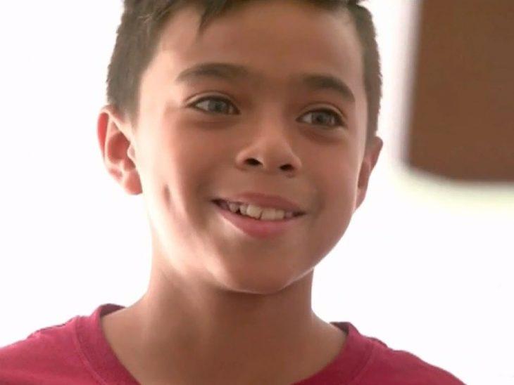 Mathew Flores, de 12 años