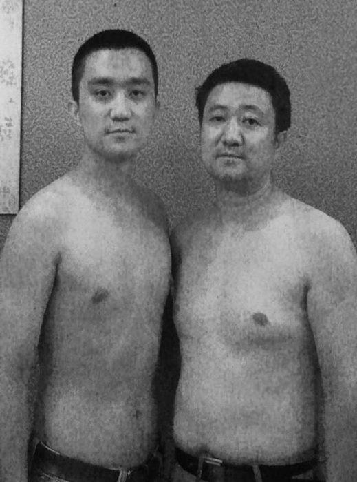 Padre e hijo misma foto 29 años (25)