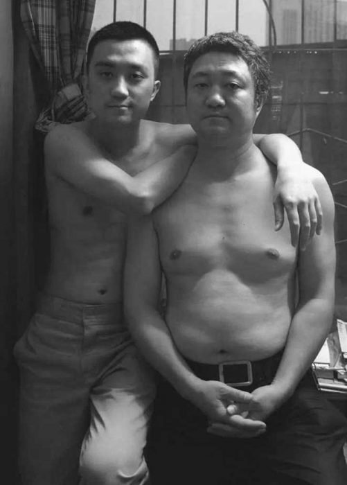 Padre e hijo misma foto 29 años (26)