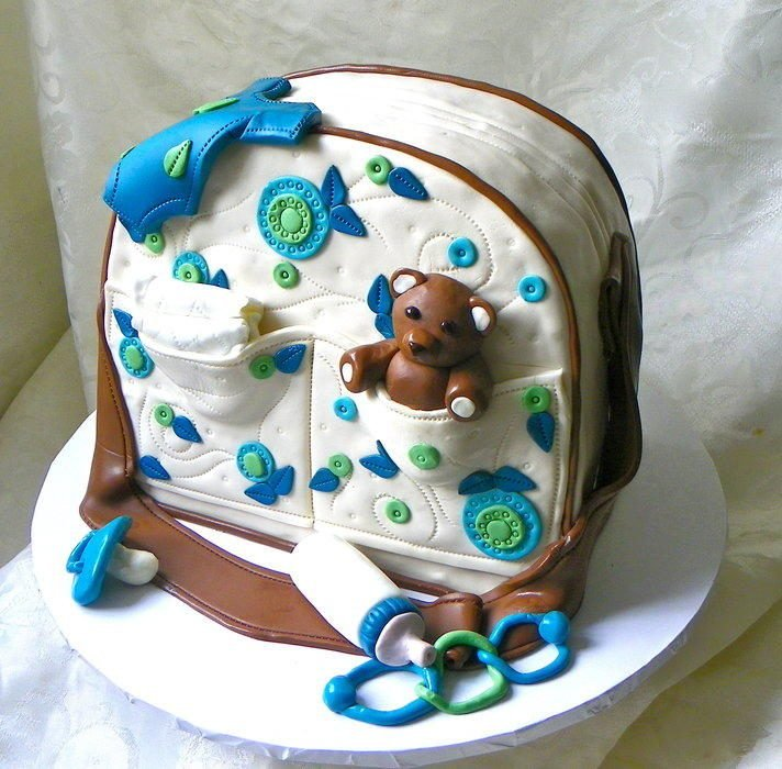 Baby Block Cake Pictures