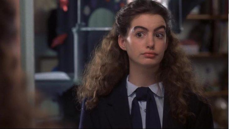 Anne Hathaway en la película El diario de la princesa