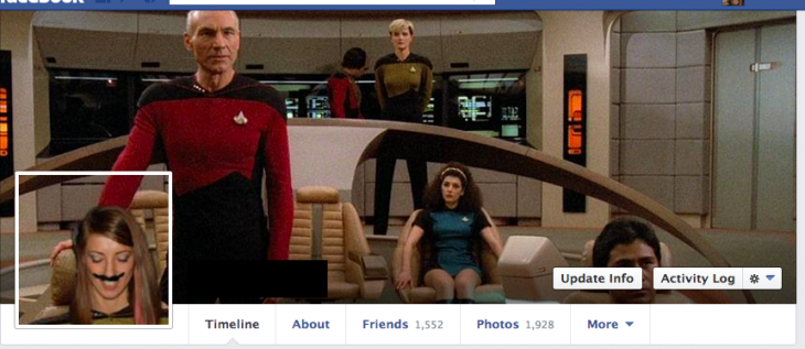 Portada de facebook Star Trek