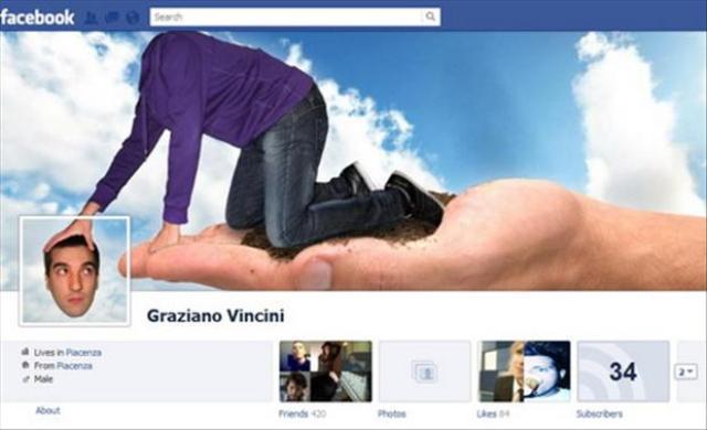 Portada de facebook buscando la cabeza
