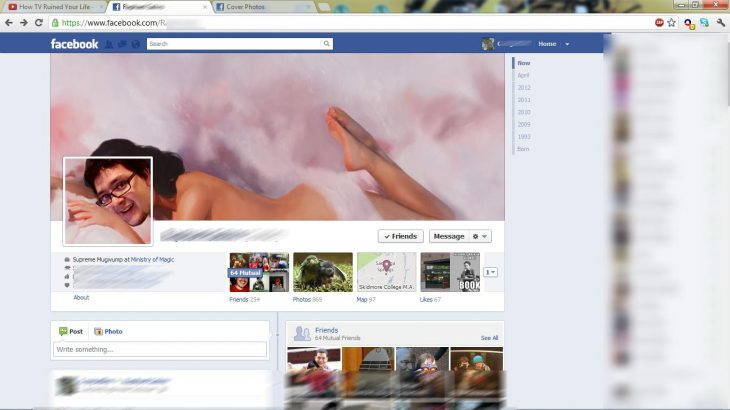 Portada de facebook de Katy Perry
