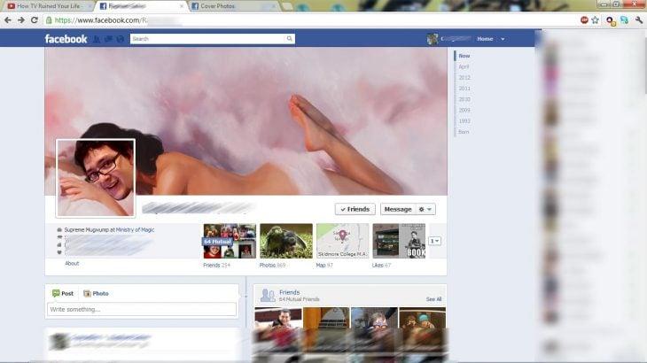 Portada de facebook de Katy Perry