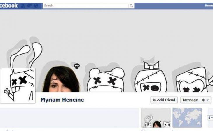 Portada de facebook tipo caricatura