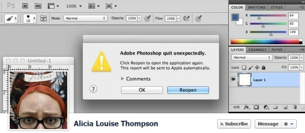 Portada de facebook en photoshop