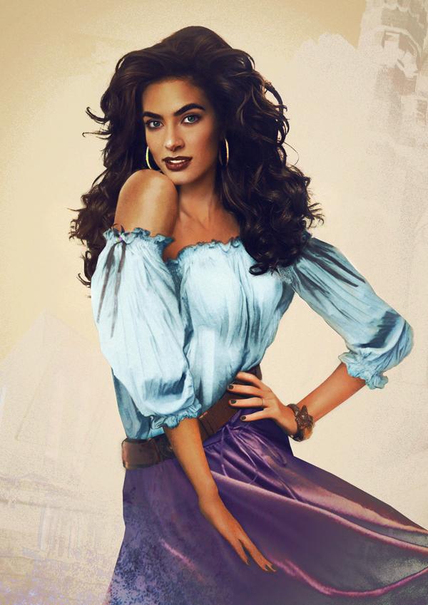 Esmeralda en la vida real