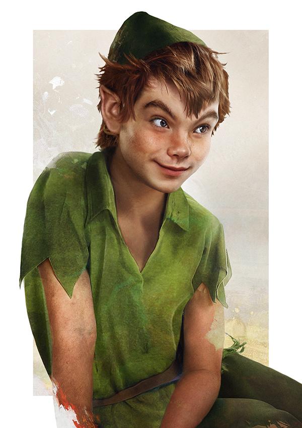 Peter Pan en una versión realisata (5)
