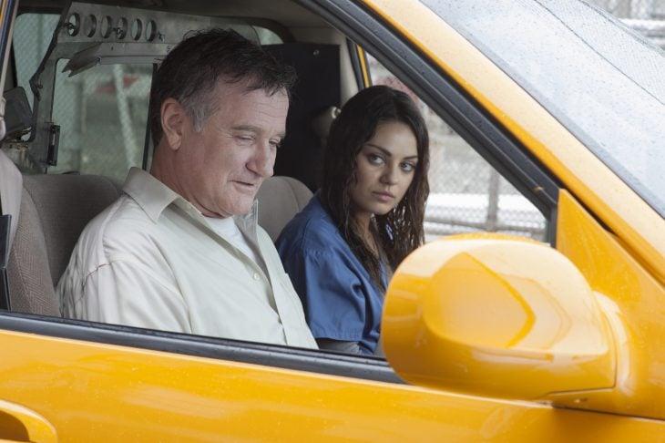 Escena de la película El hombre más enojado de Brooklyn