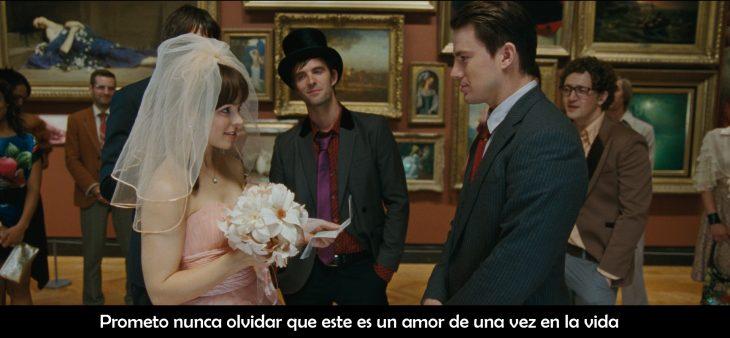 Escena de la película votos de amor día de la boda