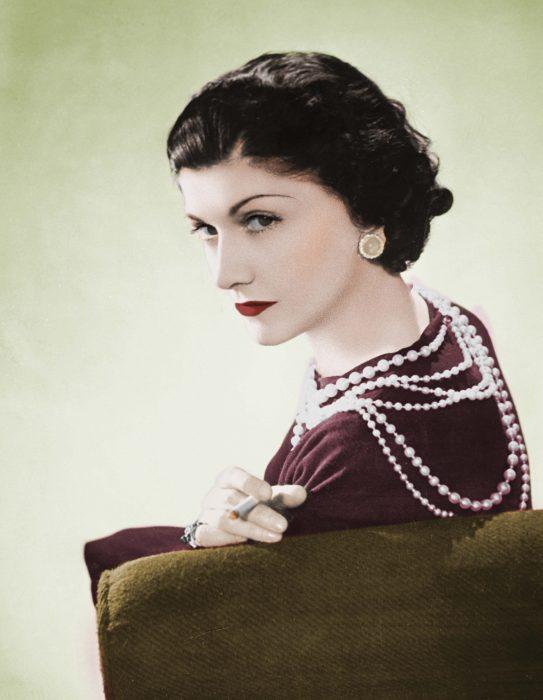 Diseñadora de modas Coco Chanel