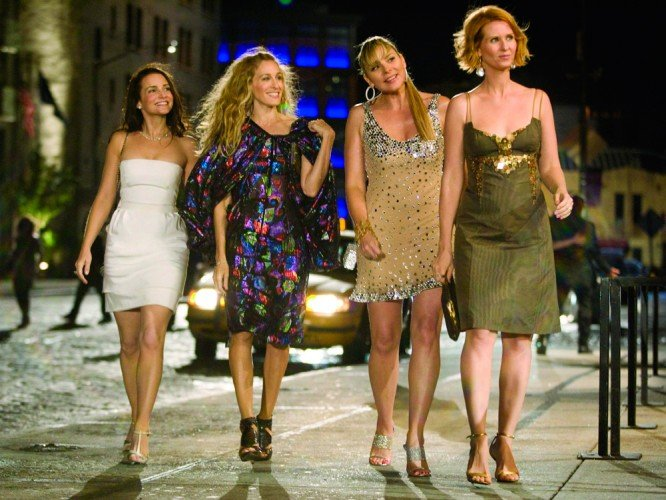Chicas de la películas sex and the city