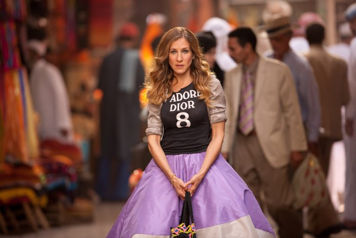 Carrie Bradshaw en la película Sex and the City 2