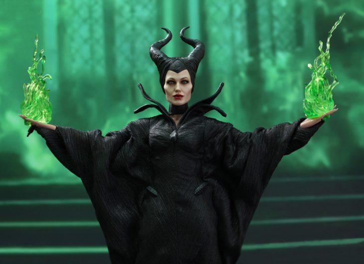 Angelina jolie como Villana de la película malefica