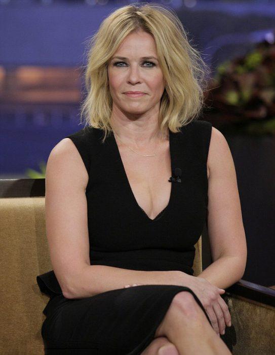 Conductora de un programa de televisión de Estados Unidos Chelsea Handler