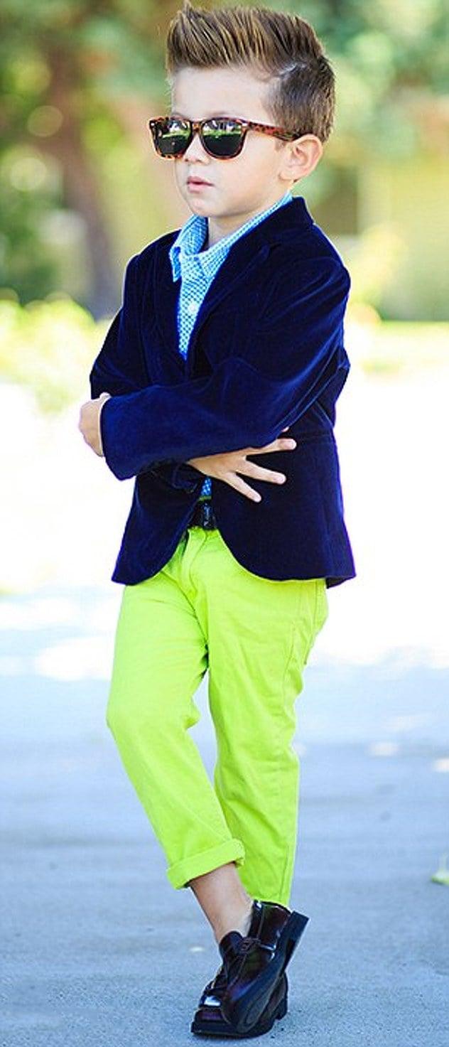 f071f873b 20 Fotos de niños fashionistas con mas estilo que tu