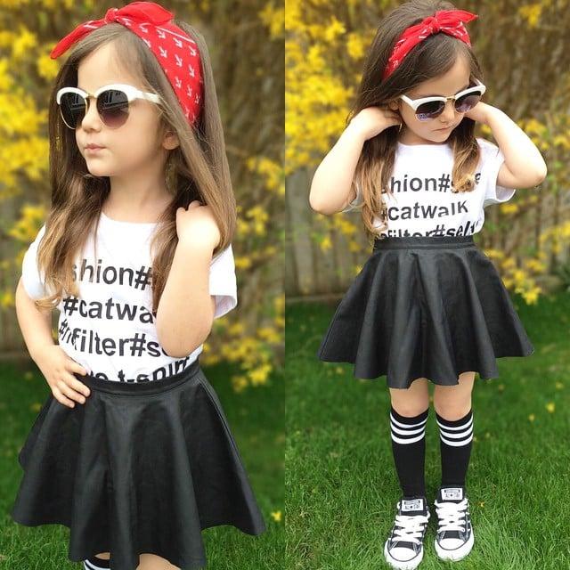 7622f0e96 20 Fotos de niños fashionistas con mas estilo que tu