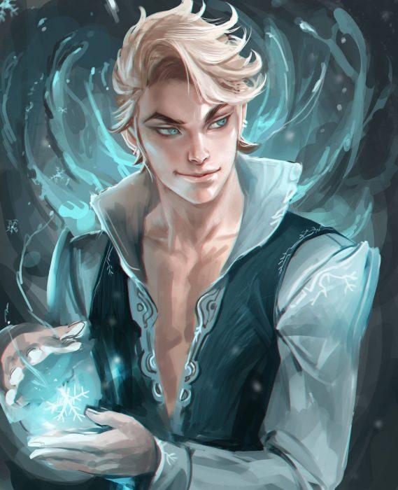 Versión masculina de Elsa de Frozen