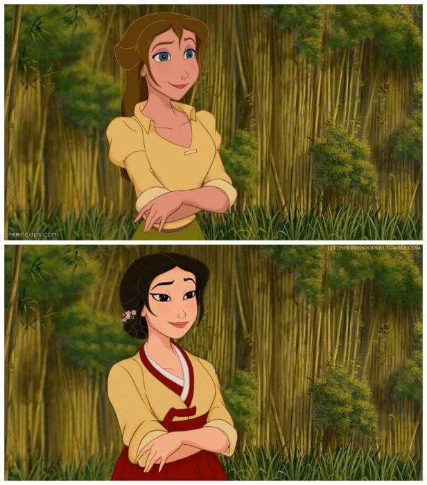 princesa jane de tarzan