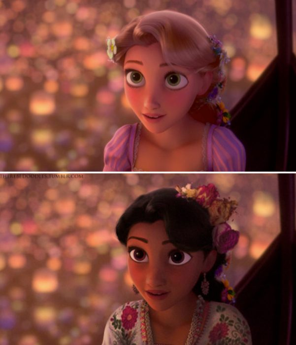 princesa rapuncel