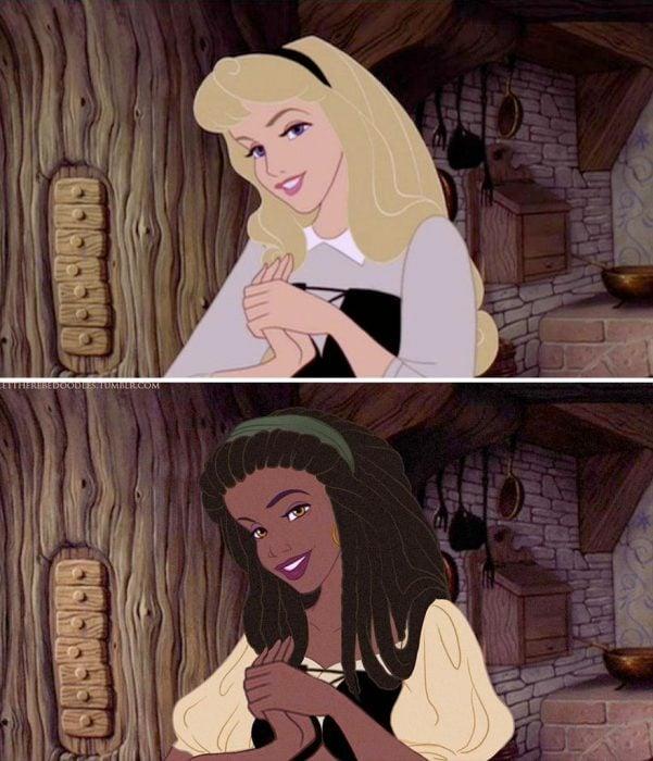 princesas de Disney con diferente cultura (2)