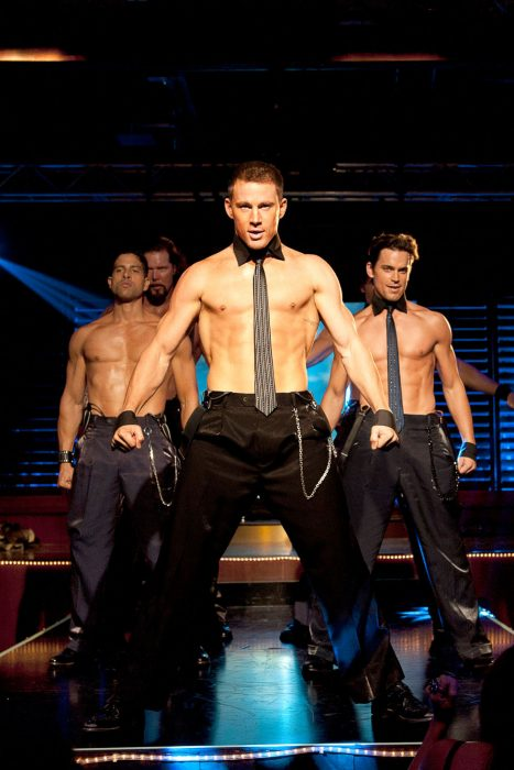 Channig tatum en la película magic mike
