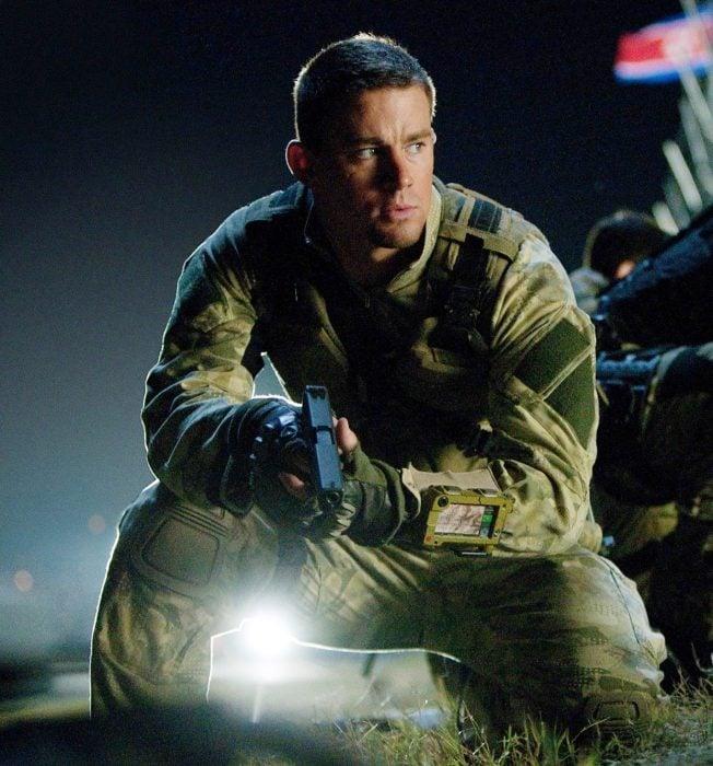 Escena de la película GI: JOE el origen de cobra actor Channing Tatum