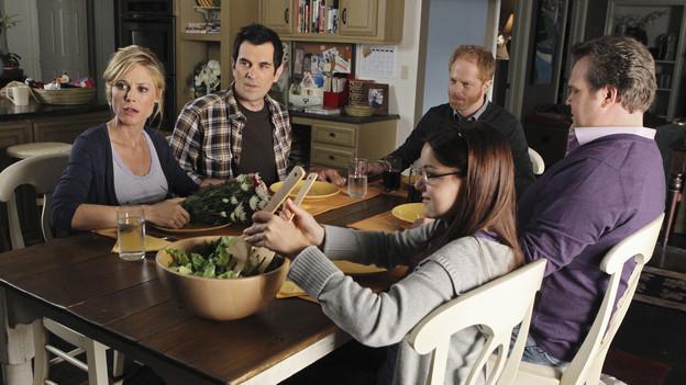 Escena de la serie modern family