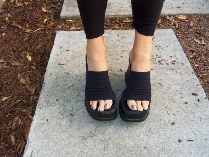 zapatos de plataforma con resorte steve madden 90s vintage